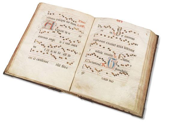 - Antiphonar Spanien, ca. 1530. - Weitere Abbildung