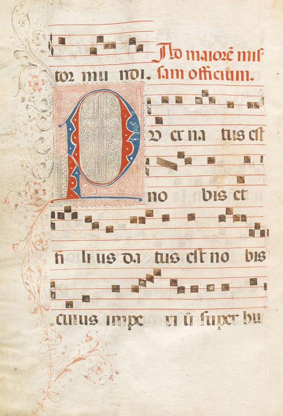 Antiphonarium - Antiphonar Spanien, ca. 1530.
