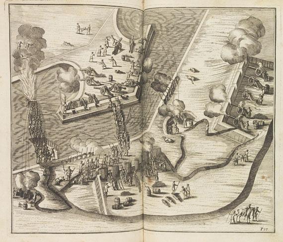 Hanns Friedrich von Fleming - Der Teutsche Soldat. 1726.