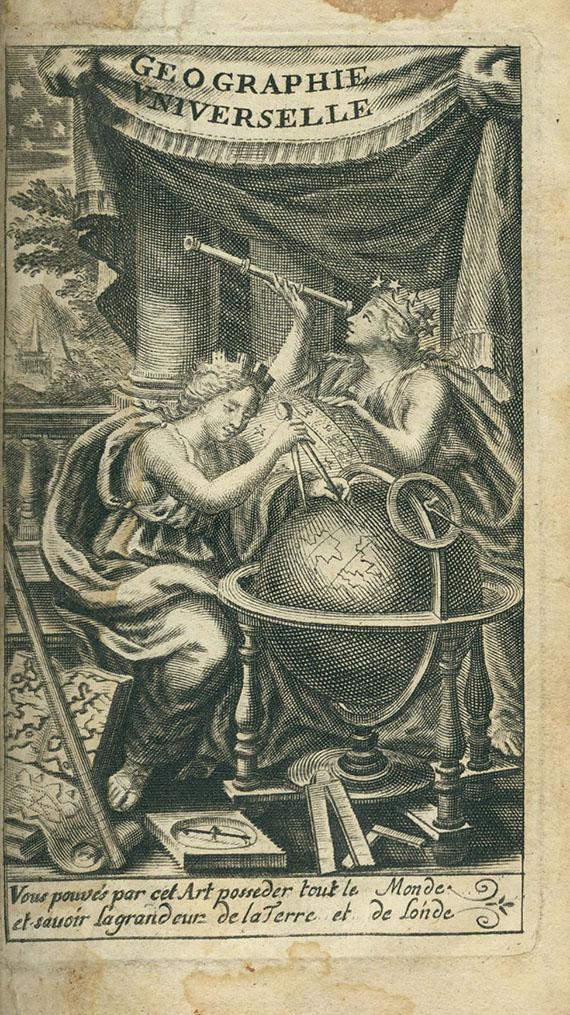 A. P. de La Croix - Nouvele metode pour aprendre la geographie universele. 3 Bde. 1717