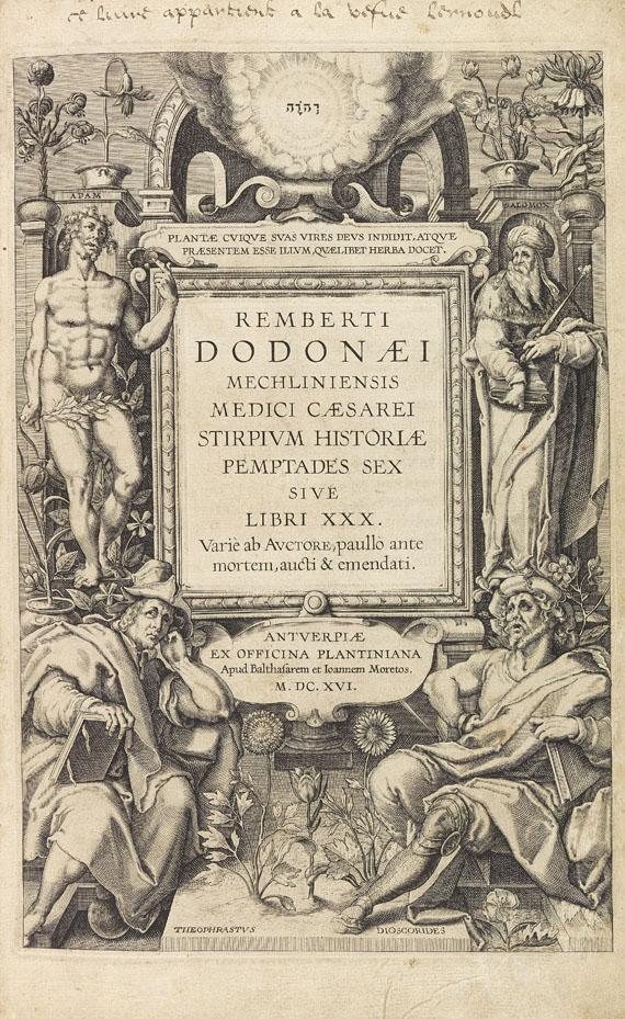 Rembertus Dodonaeus - Stirpium historia. 1616
