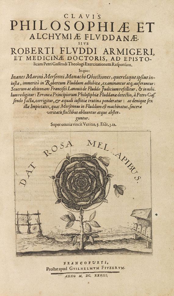Robert Fludd - Clavis philosophiae et alchymiae. 1633.