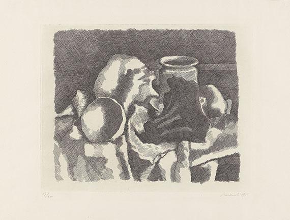 Giorgio Morandi - Natura morta con il panneggio