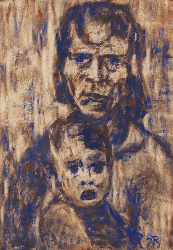 Christian Rohlfs - Mutter mit Kind