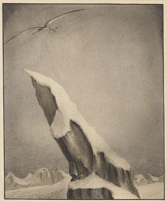 Alfred Kubin - Der Adler