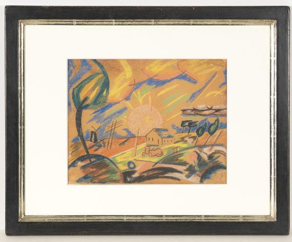 Franz Wilhelm Seiwert - Morgen auf dem Lande - Rahmenbild