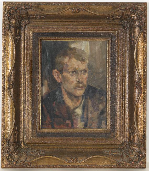 Josef Scharl - Alisi, Gärtner von Nymphenburg - Frame image