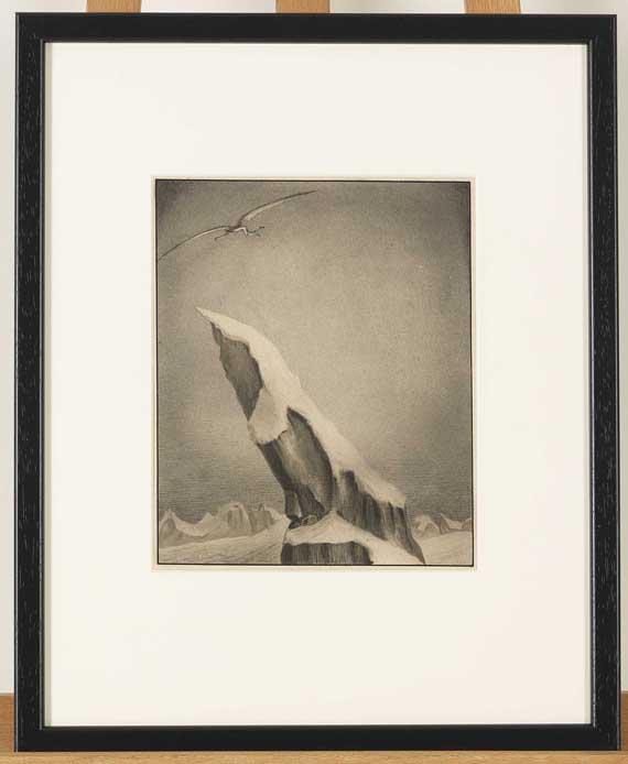 Alfred Kubin - Der Adler - Rahmenbild