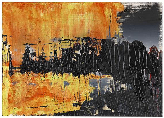 Gerhard Richter - Ohne Titel (8.4.89)