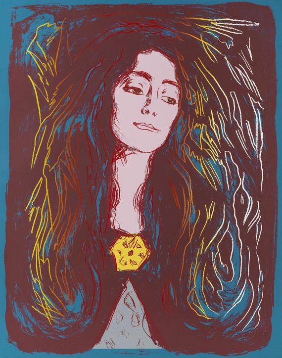 Andy Warhol - Eva Mudocci