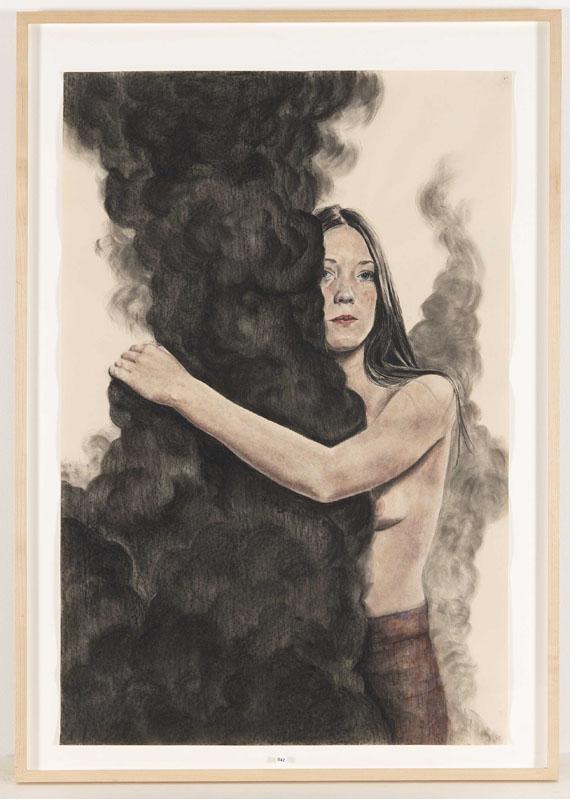 Iris van Dongen - Ohne Titel (Embrace) - Rahmenbild
