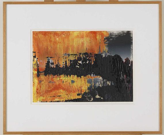 Gerhard Richter - Ohne Titel (8.4.89) - Frame image