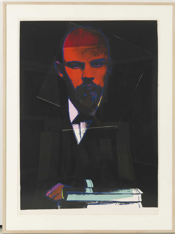 Andy Warhol - Lenin - Rahmenbild