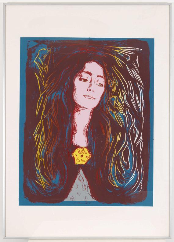 Andy Warhol - Eva Mudocci - Rahmenbild