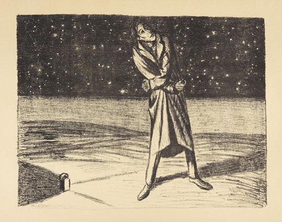 Ernst Barlach - Der arme Vetter. 1919. 2 Bde. - Weitere Abbildung