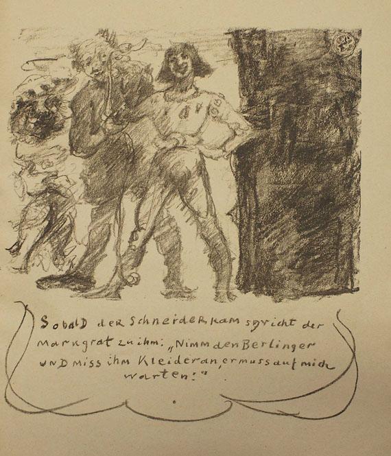 Lovis Corinth - Das Leben des Goetz von Berlichingen. 1920.