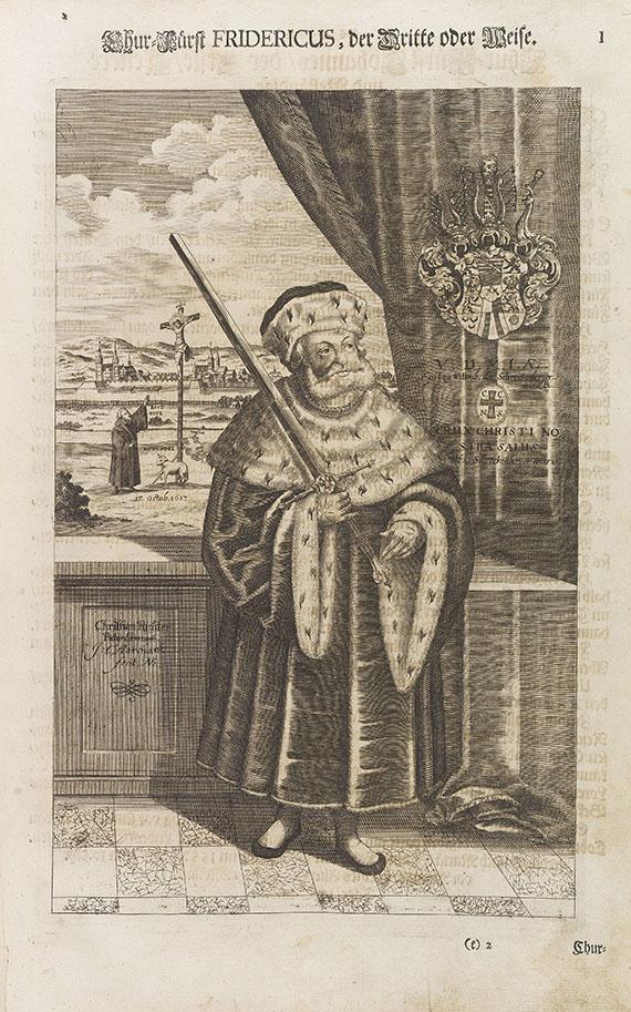 Biblia germanica - Endter-Bibel. 1700. -