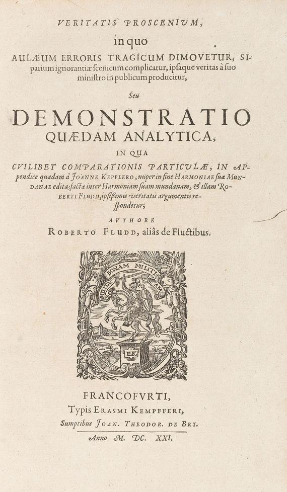 Robert Fludd - Veritatis proscenium. 1621