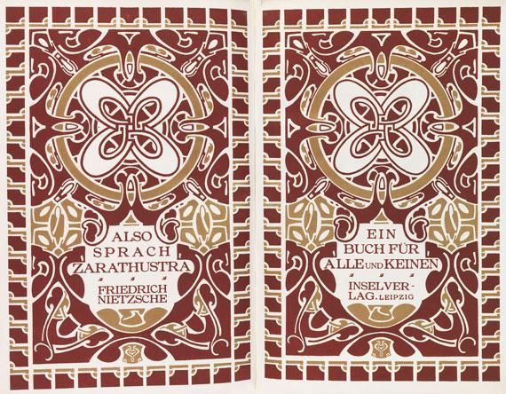 Henry van de Velde - Nietzsche, Also sprach Zarathustra. 1908