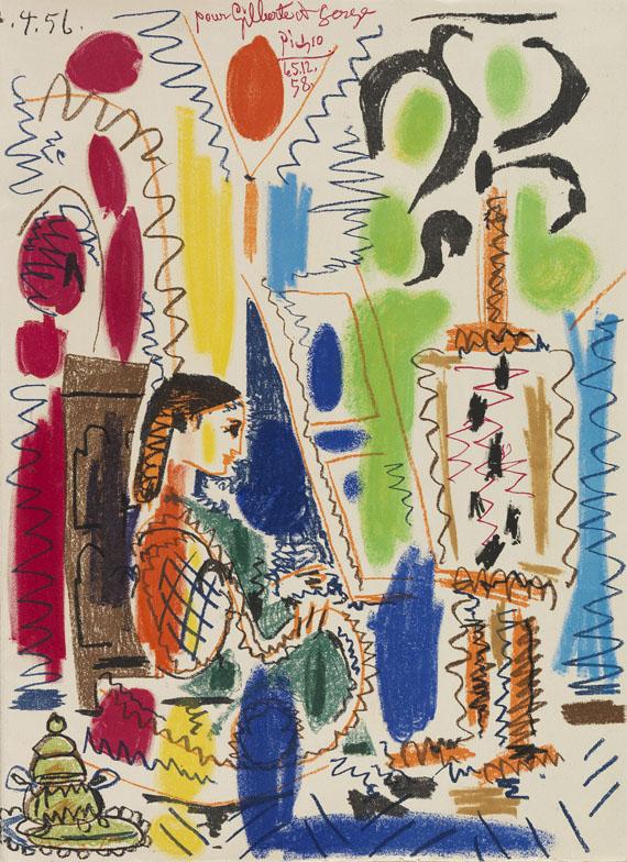 Pablo Picasso - Ces peintres nos amis. 1954
