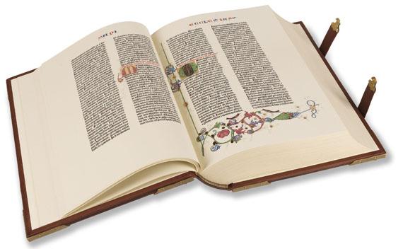 - Gutenberg-Bibel. 1977-79. 3 Bde. - Weitere Abbildung