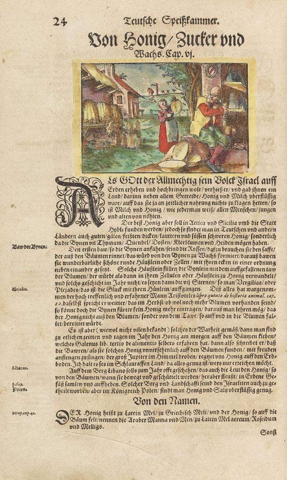 Hieronymus Bock - Kräutterbuch. 1630