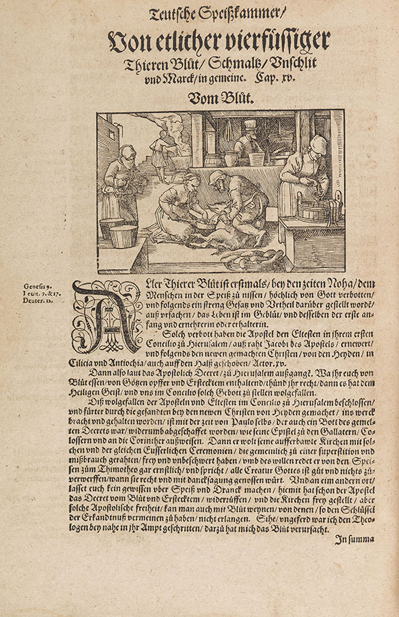 Hieronymus Bock - Kreutterbuch. 1595