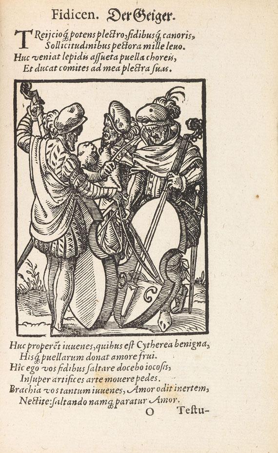 Jost Amman - Schopper, H., De omnibus illiberalibus. 1574 - Weitere Abbildung