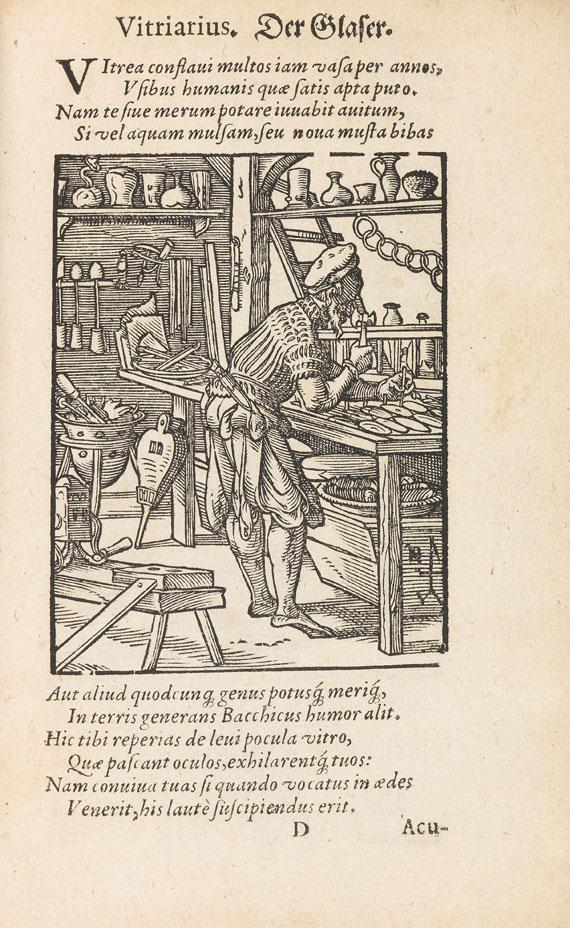 Jost Amman - Schopper, H., De omnibus illiberalibus. 1574