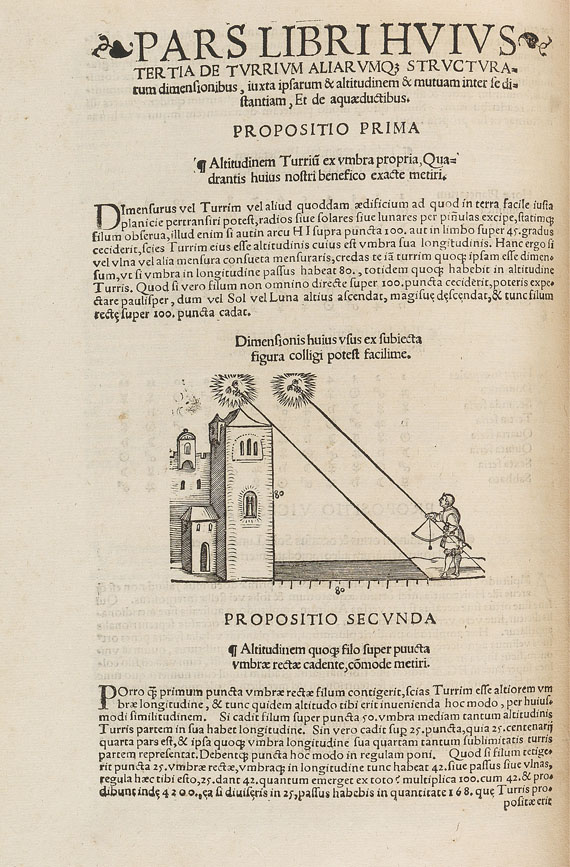Peter Apian - Quadrans astronomicus. 1532