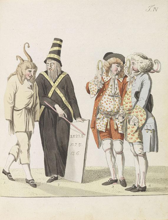 Johann Wolfgang von Goethe - Das römische Carneval. 1789