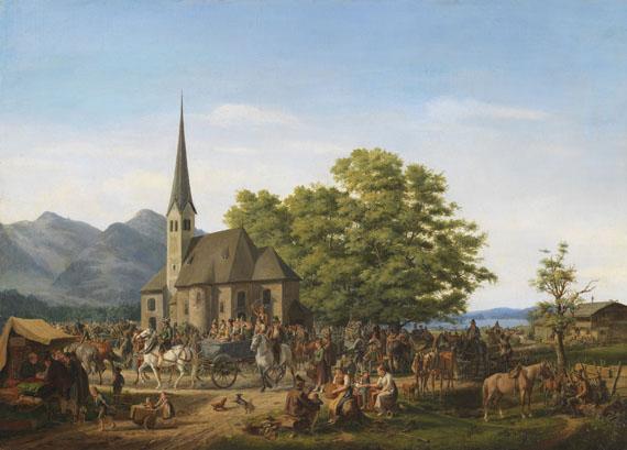 Karl Altmann - St. Leonhardsfest in Fischhausen am Schliersee