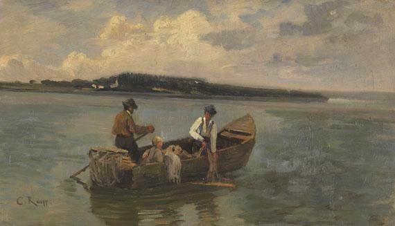 Karl Raupp - Chiemseefischer