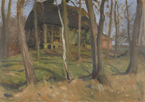 Fritz Overbeck - Gehöft in Weyermoor