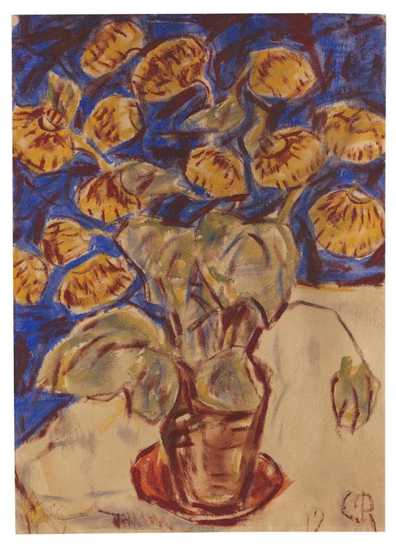 Christian Rohlfs - Pantoffelblume