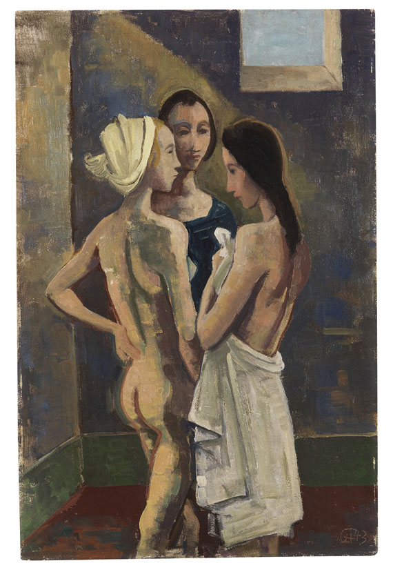 Karl Hofer - Drei Mädchen