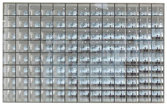 Adolf Luther - Hohlspiegelobjekt (Energetische Plastik)