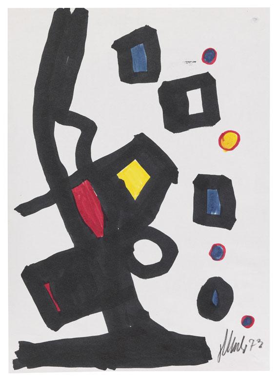 Fritz Winter - Abstrakte Komposition
