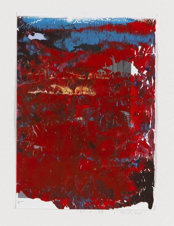 Gerhard Richter - Ohne Titel (25.04.08)