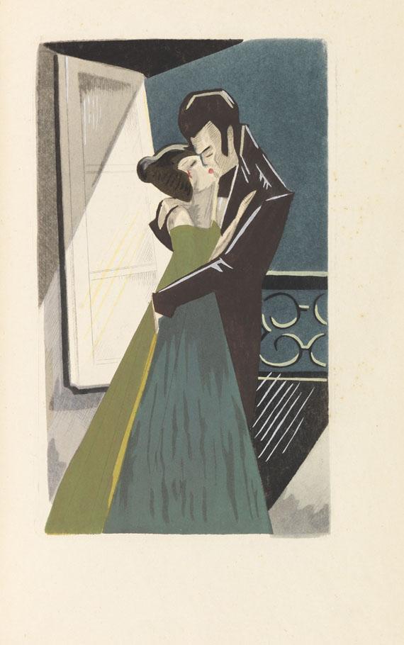 Roger Pillet - Les oraisons amoureuses. Illustr. von Y. B. Dyl. -