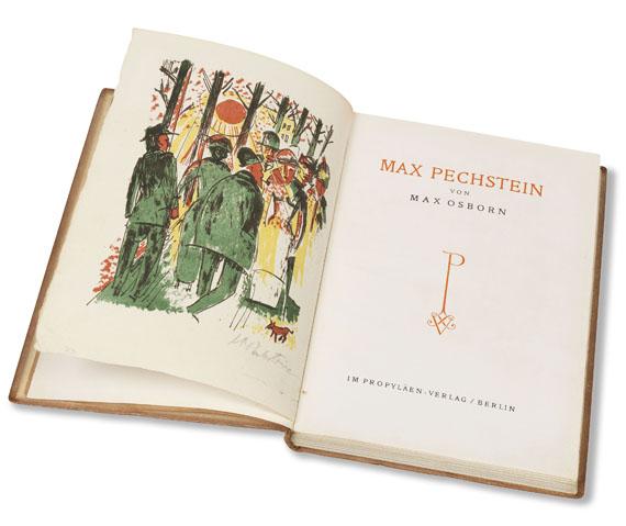 Hermann Max Pechstein - Osborn-Biographie. -
