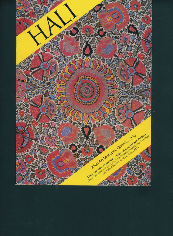 Hali - HALI-Kataloge. Slg. von ca. 120 Heften (vereinzelt doppelt)