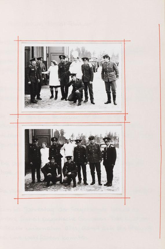 DDR Brigadebuch - Brigadebuch. 2 Bde. - Dabei: 7 Fotografien.