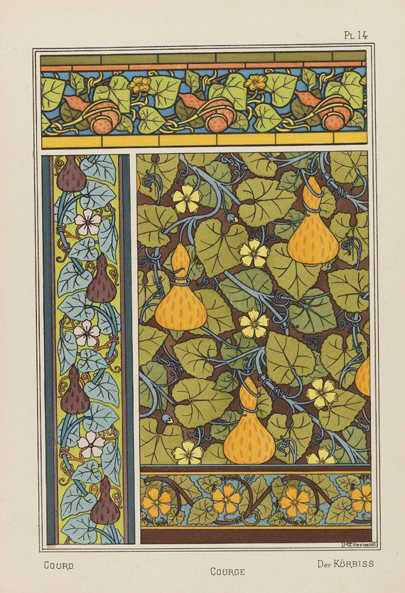 Eugène Samuel Grasset - La plante et ses applicantes ornamentales. 2 Bde.