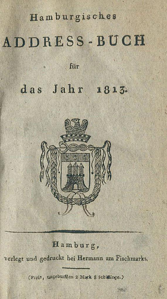 Hamburg Adressbücher