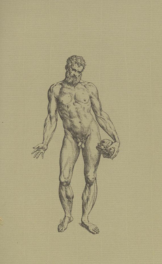 Andreas Vesalius - Faks.: De humani corporis fabrica libri septem