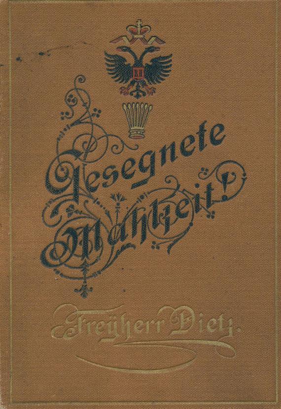 Kochbücher - Schandri, Schreger, Dietz, Malortie: Kochbücher. 4 Werke in 5 Bdn.