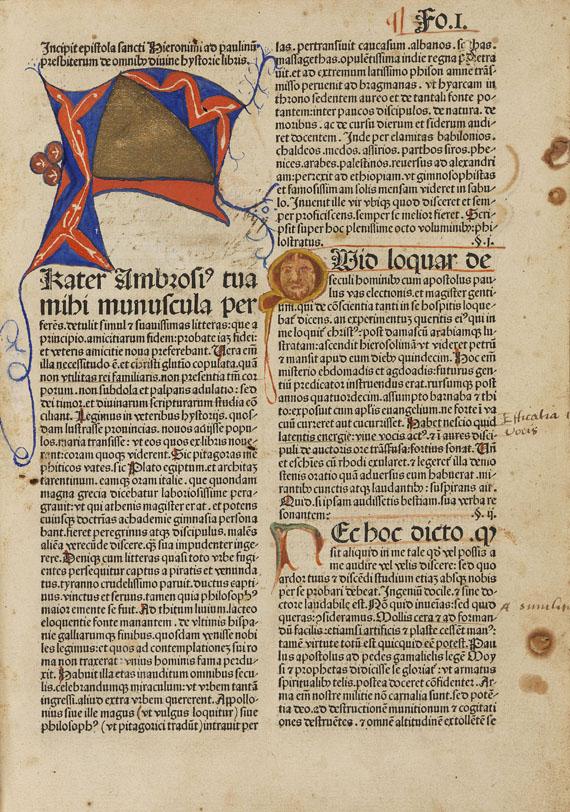 Biblia latina - Biblia latina. 1482.
