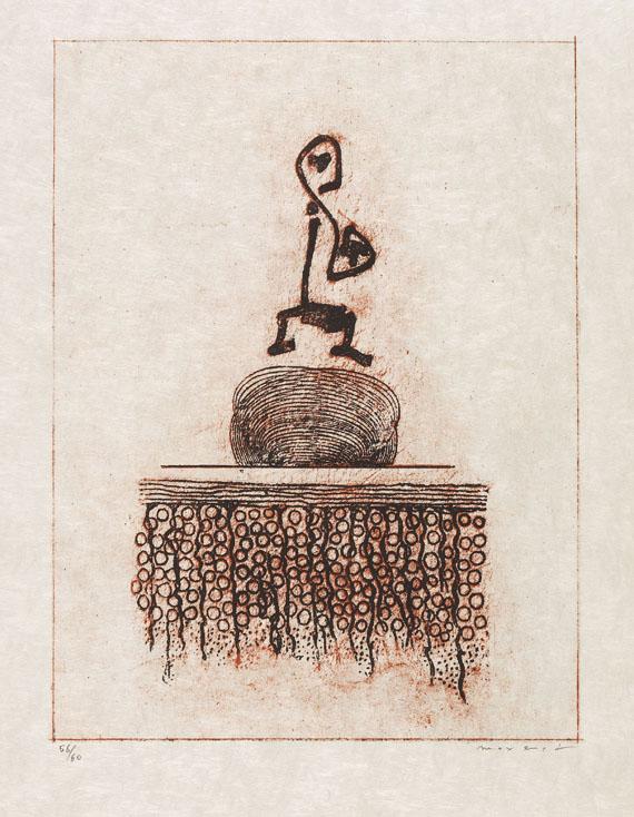 Max Ernst - Werner Heisenberg. -