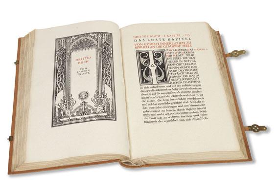Melchior Lechter - Thomas von Kempen, Faks.: Die vier Bücher